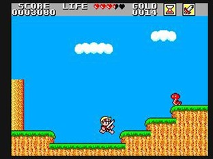 Test Wonder Boy in Monster Land Master System - Screenshot 15