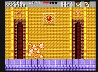 Test Wonder Boy in Monster Land Master System - Screenshot 16