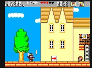 Test Wonder Boy in Monster Land Master System - Screenshot 19