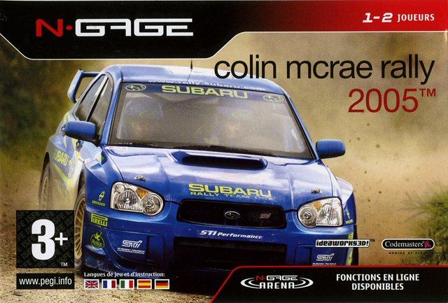 colin mcrae rally 2005 sur n gage. Black Bedroom Furniture Sets. Home Design Ideas