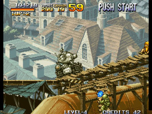 Test Metal Slug Neo Geo - Screenshot 15