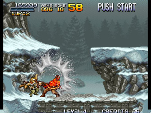Test Metal Slug Neo Geo - Screenshot 16