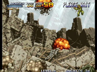 Test Metal Slug Neo Geo - Screenshot 17