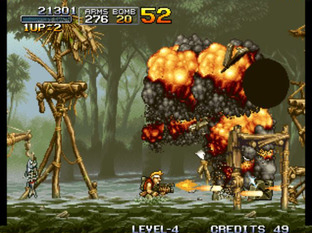 Test Metal Slug Neo Geo - Screenshot 18