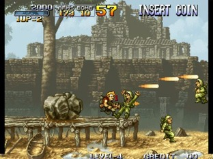Test Metal Slug Neo Geo - Screenshot 19