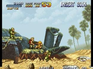 Test Metal Slug Neo Geo - Screenshot 21