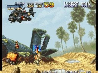 Test Metal Slug Neo Geo - Screenshot 22