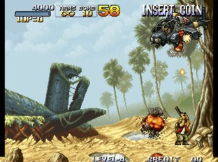 Test Metal Slug Neo Geo - Screenshot 23