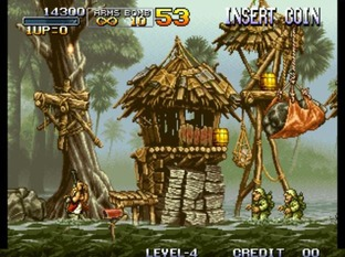 Test Metal Slug Neo Geo - Screenshot 24