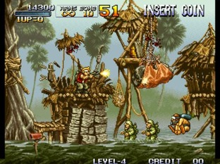 Test Metal Slug Neo Geo - Screenshot 25