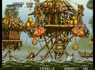 Test Metal Slug Neo Geo - Screenshot 26