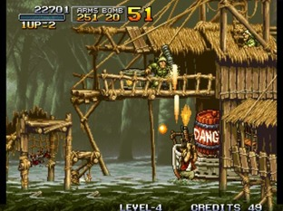 Test Metal Slug Neo Geo - Screenshot 27