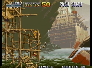 Test Metal Slug Neo Geo - Screenshot 28