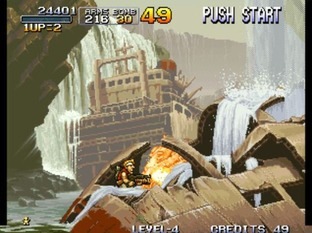 Test Metal Slug Neo Geo - Screenshot 29
