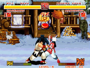 Test Samurai Shodown Neo Geo - Screenshot 1