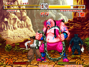 Test Samurai Shodown Neo Geo - Screenshot 4
