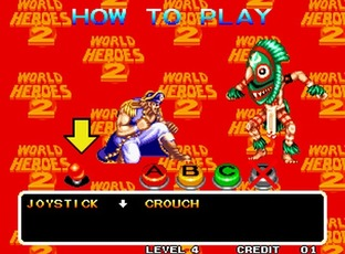 World Heroes 2 Neo Geo