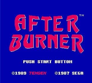 Images After Burner Nes - 1