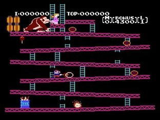 Test Donkey Kong Nes - Screenshot 3