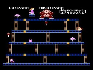 Test Donkey Kong Nes - Screenshot 6