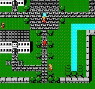 Final Fantasy I.II NES - Screenshot 4