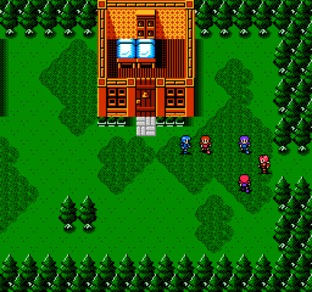 Fire Emblem Gaiden NES - Screenshot 3