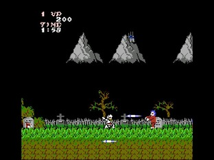 Test Ghosts'n Goblins Nes - Screenshot 13
