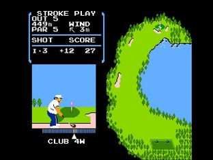 Test Golf Nes - Screenshot 14