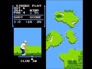 Test Golf Nes - Screenshot 15