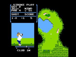 Test Golf Nes - Screenshot 16
