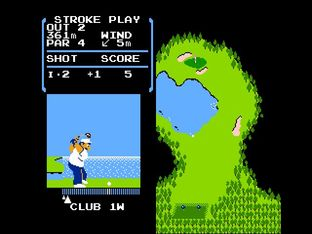 Test Golf Nes - Screenshot 18