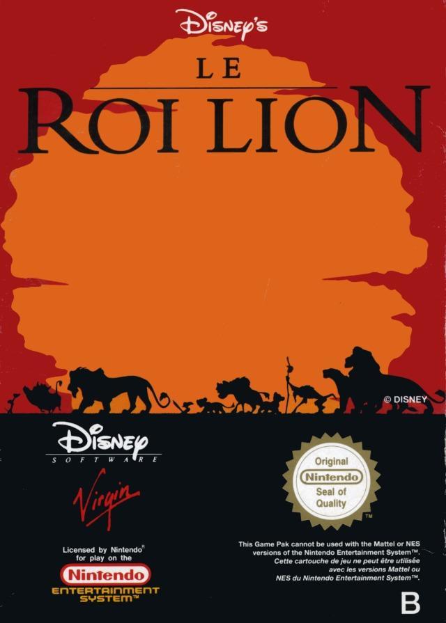 jeuxvideo.com Le Roi Lion - Nes Image 1 sur 3