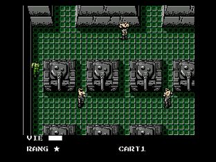 Test Metal Gear Nes - Screenshot 21