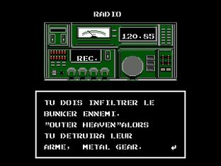 Test Metal Gear Nes - Screenshot 22