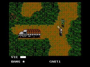 Test Metal Gear Nes - Screenshot 23