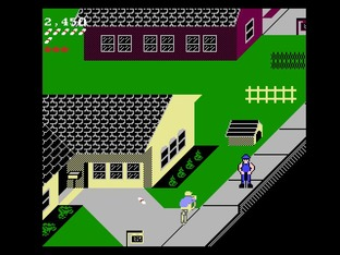 Test Paperboy Nes - Screenshot 5