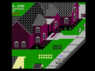 Test Paperboy Nes - Screenshot 8