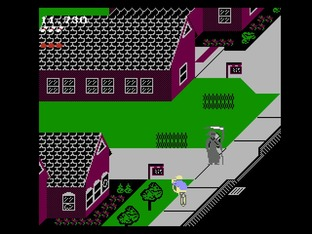 Test Paperboy Nes - Screenshot 9