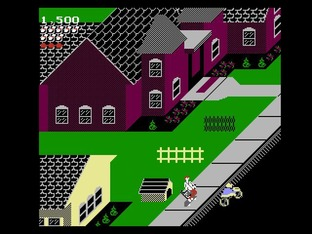 Test Paperboy Nes - Screenshot 11