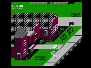 Test Paperboy Nes - Screenshot 12