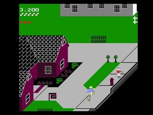 Test Paperboy Nes - Screenshot 13