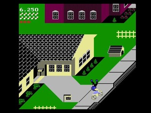 Test Paperboy Nes - Screenshot 17