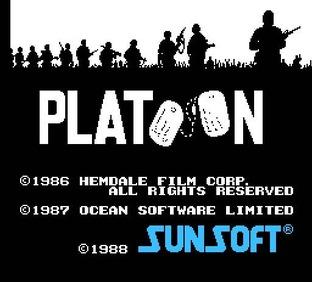 Images Platoon Nes - 1
