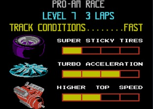 Test R.C. Pro-Am Nes - Screenshot 8