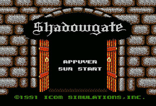 Test Shadowgate Nes - Screenshot 1