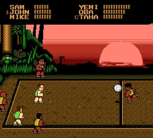 Test Super Dodge Ball Nes - Screenshot 9