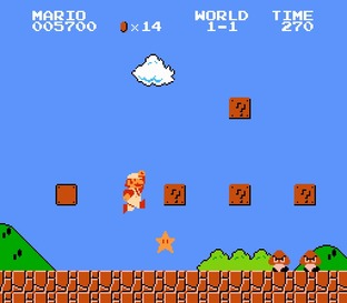 Test Super Mario Bros. Nes - Screenshot 22