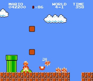 Test Super Mario Bros. Nes - Screenshot 25
