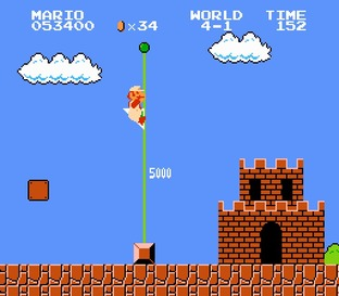 Test Super Mario Bros. Nes - Screenshot 26