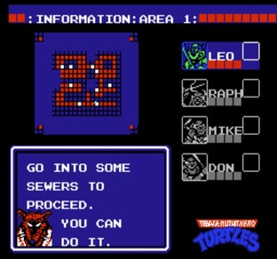 Test Teenage Mutant Ninja Turtles Nes - Screenshot 8